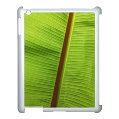 Ensete Leaf Apple Ipad 3/4 Case (white)