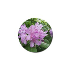 Purple Rhododendron Flower Golf Ball Marker (10 Pack)