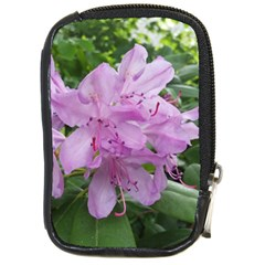 Purple Rhododendron Flower Compact Camera Cases by picsaspassion