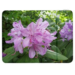 Purple Rhododendron Flower Samsung Galaxy Tab 7  P1000 Flip Case by picsaspassion
