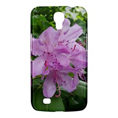 Purple Rhododendron Flower Samsung Galaxy Mega 6 3  I9200 Hardshell Case