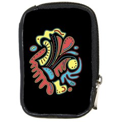 Colorful Abstract Spot Compact Camera Cases by Valentinaart