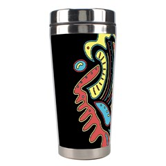 Colorful Abstract Spot Stainless Steel Travel Tumblers by Valentinaart