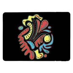 Colorful Abstract Spot Samsung Galaxy Tab Pro 12 2  Flip Case