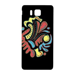 Colorful Abstract Spot Samsung Galaxy Alpha Hardshell Back Case