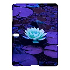 Lotus Flower Magical Colors Purple Blue Turquoise Samsung Galaxy Tab S (10 5 ) Hardshell Case  by yoursparklingshop