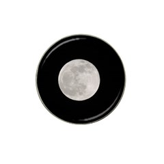 Full Moon At Night Hat Clip Ball Marker by picsaspassion