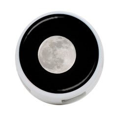 Full Moon At Night 4 Port Usb Hub (one Side) by picsaspassion