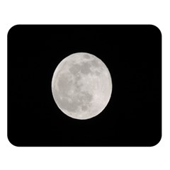 Full Moon At Night Double Sided Flano Blanket (large)  by picsaspassion