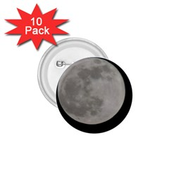 Close To The Full Moon 1 75  Buttons (10 Pack) by picsaspassion