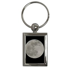 Close To The Full Moon Key Chains (rectangle)  by picsaspassion