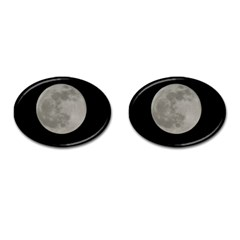 Close To The Full Moon Cufflinks (oval)