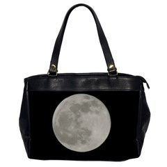 Close To The Full Moon Office Handbags (2 Sides)  by picsaspassion