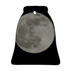 Close To The Full Moon Ornament (bell)  by picsaspassion