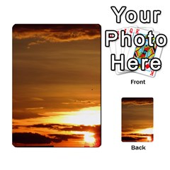 Summer Sunset Multi Purpose Cards (rectangle)  by picsaspassion