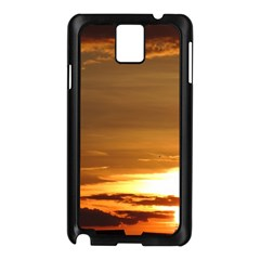 Summer Sunset Samsung Galaxy Note 3 N9005 Case (black) by picsaspassion