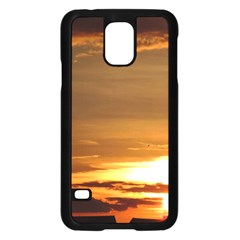 Summer Sunset Samsung Galaxy S5 Case (black) by picsaspassion