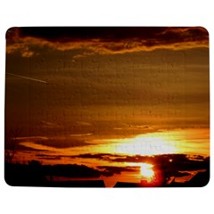 Summer Sunset Jigsaw Puzzle Photo Stand (rectangular) by picsaspassion