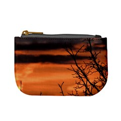 Tree Branches And Sunset Mini Coin Purses by picsaspassion