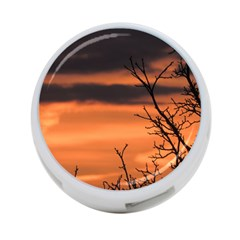 Tree Branches And Sunset 4 Port Usb Hub (one Side) by picsaspassion