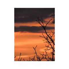 Tree Branches And Sunset Shower Curtain 48  X 72  (small)  by picsaspassion