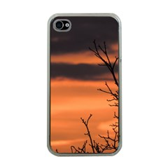 Tree Branches And Sunset Apple Iphone 4 Case (clear) by picsaspassion