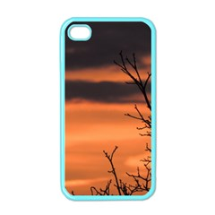 Tree Branches And Sunset Apple Iphone 4 Case (color) by picsaspassion