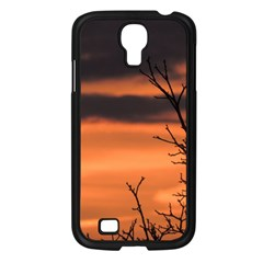 Tree Branches And Sunset Samsung Galaxy S4 I9500/ I9505 Case (black) by picsaspassion