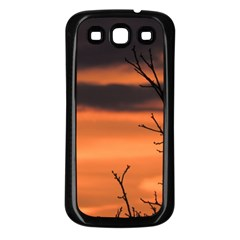 Tree Branches And Sunset Samsung Galaxy S3 Back Case (black) by picsaspassion