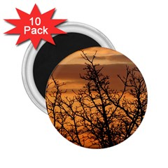 Colorful Sunset 2 25  Magnets (10 Pack)  by picsaspassion