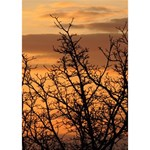Colorful Sunset TAKE CARE 3D Greeting Card (7x5) Inside