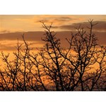 Colorful Sunset TAKE CARE 3D Greeting Card (7x5) Back