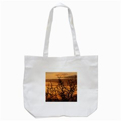 Colorful Sunset Tote Bag (white) by picsaspassion