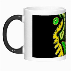 Yellow And Green Spot Morph Mugs by Valentinaart