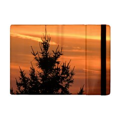 Christmas Tree And Sunset Apple Ipad Mini Flip Case by picsaspassion