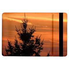Christmas Tree And Sunset Ipad Air Flip by picsaspassion