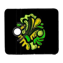 Yellow And Green Spot Samsung Galaxy S  Iii Flip 360 Case by Valentinaart
