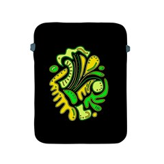 Yellow And Green Spot Apple Ipad 2/3/4 Protective Soft Cases by Valentinaart