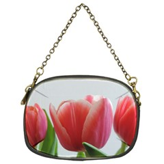 Red Tulips Chain Purses (one Side)  by picsaspassion