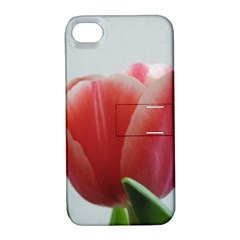 Red Tulips Apple Iphone 4/4s Hardshell Case With Stand by picsaspassion