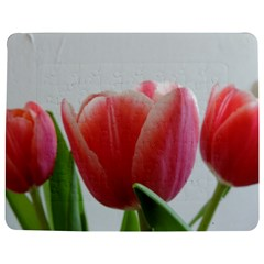 Red Tulips Jigsaw Puzzle Photo Stand (rectangular) by picsaspassion
