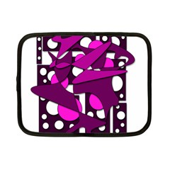Something Purple Netbook Case (small)