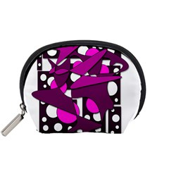 Something Purple Accessory Pouches (small)  by Valentinaart