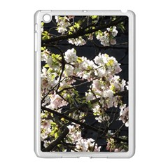 Blooming Japanese Cherry Flowers Apple Ipad Mini Case (white) by picsaspassion