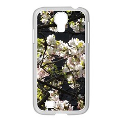 Blooming Japanese Cherry Flowers Samsung Galaxy S4 I9500/ I9505 Case (white)