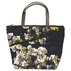 Japanese Cherry Flower Bucket Bags by picsaspassion