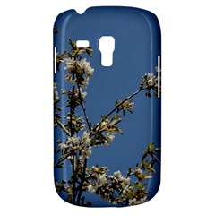 White Cherry Flowers And Blue Sky Samsung Galaxy S3 Mini I8190 Hardshell Case by picsaspassion