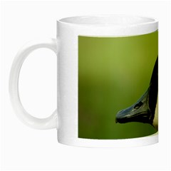 Goose Bird In Nature Night Luminous Mugs by picsaspassion