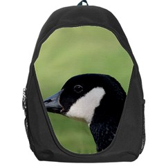 Goose Bird In Nature Backpack Bag by picsaspassion