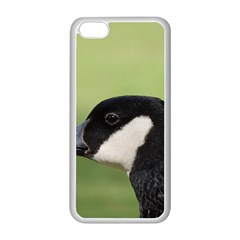 Goose Bird In Nature Apple Iphone 5c Seamless Case (white) by picsaspassion